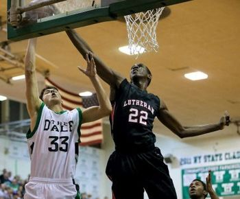 Power forward Kentan Facey (Credit: George A. Faella, Long Island Newsday)