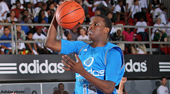 Heralded 2014 guard Isaiah Whitehead is considering St. John's. (Adidas photo)