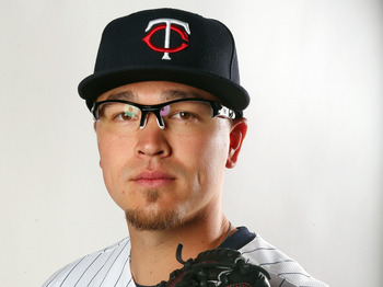 FORT MYERS, FL - FEBRUARY 19:  Vance Worley #49 of the Minnesota Twins poses for a portrait on February 19, 2013 at Hammond Stadium in Fort Myers, Florida.  (Photo by Elsa/Getty Images)