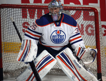 With Khabibulin playing so well, the Oilers can rest Devan Dubnyk and still be confident.