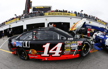 Several drivers, including Tony Stewart, had an early end to their day in the Daytona 500.