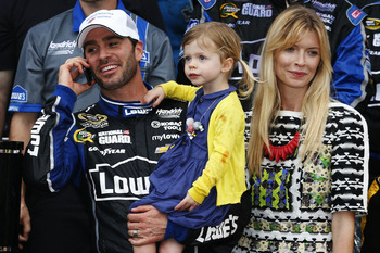 The winner of the 2013 Daytona 500, Jimmie Johnson.
