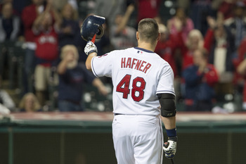 Longtime Indian Travis Hafner is looking to capitalize on his new role in pinstripes.