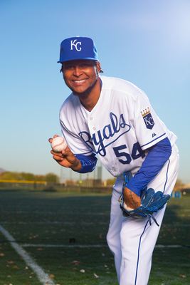 Ervin Santana will suit up for the Royals this season.