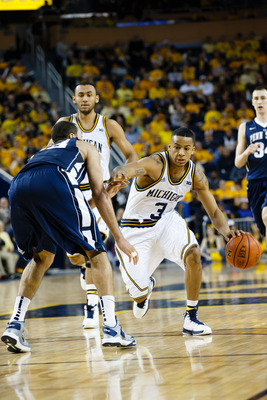 Trey Burke and the Michigan Wolverines need to avoid let downs away from the Crisler Center to win the Big Ten title.