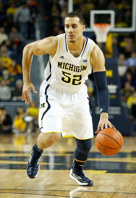 Jordan Morgan is finally healthy enough to make an impact at the defensive end of the floor for Michigan.
