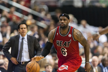 Miami Heat's LeBron James