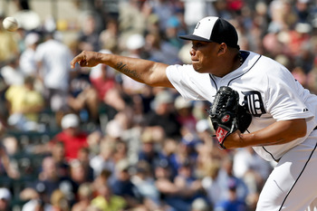 Bruce Rondon can throw up to 103 mph.