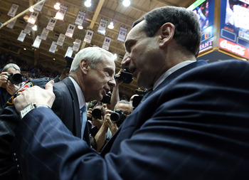Coach K and Roy Williams will continue battling.