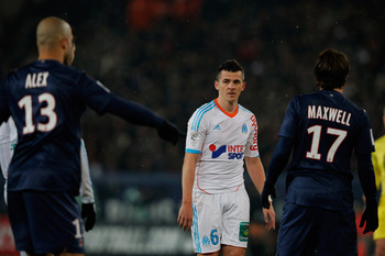 Barton's performance in midfield for OM was impressive