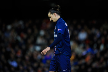 Ibrahimovic is enduring a disappointing spell of form with PSG