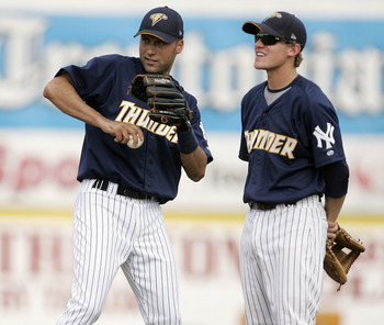 Corban Joseph (right) can learn a lot this Spring.