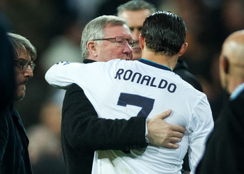 Sir Alex and CR7
