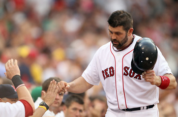 Varitek is one of the greatest leaders to ever wear a Red Sox uniform.