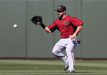 Adam Eaton will be part of an outfield featuring Jason Kubel and Cody Ross.