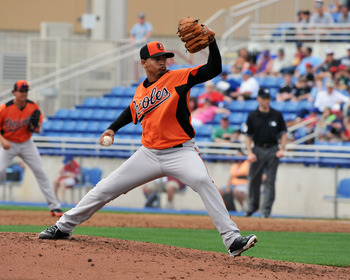 Newcomer Jair Jurrjens hurls one home.