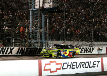 Mark Martin ended a winless drought at Phoenix in 2009.
