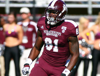 Mississippi State WR Robert Johnson