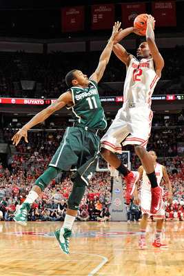 Keith Appling had just three points Sunday in MSU's 68-60 loss to Ohio State.
