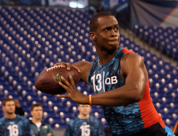 The Raiders should not take former West Virginia QB Geno Smith.