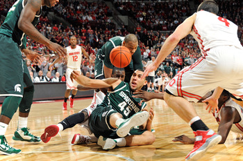 Denzel Valentine has set the bar high. That's why it's not out of line to be critical of him at this point.