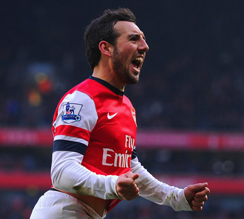 In another trophyless season, Santi Cazorla has been a revelation