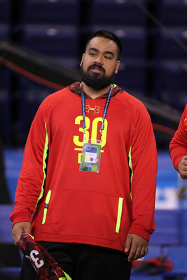 Star Lotulelei did not participate in drills because of a potential heart condition.