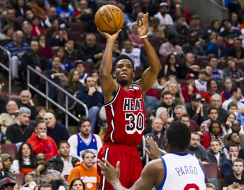 Norris Cole was just the latest to get in the act against the 76ers.