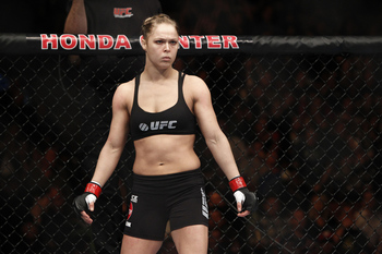 Ronda Rousey - Esther Lin/MMAFighting