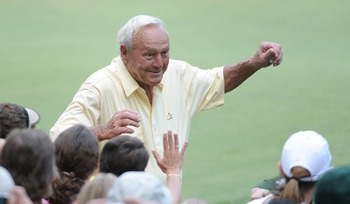 Arnold Palmer always had a wonderful relationship with his adoring fans.