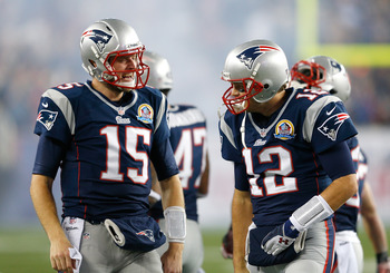 Ryan Mallett won't be backing up Tom Brady forever.