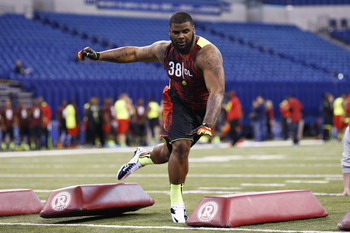 Sheldon Richardson looked agile for a man his size.