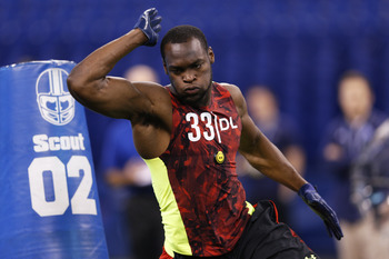 Barkevious Mingo looked good at the combine, in just about every drill.
