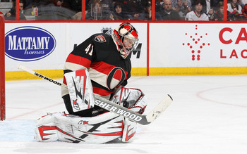 Craig Anderson has been stellar in net for Ottawa.