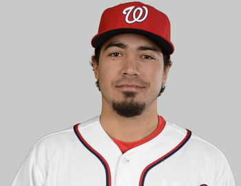 February 20, 2013; Viera,  FL, USA;    Washington Nationals third baseman Anthony Rendon (6) poses for photo day at Space Coast Stadium. Mandatory Credit: Brad Barr-USA TODAY Sports