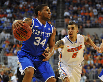 Wildcat senior guard Julius Mays against Florida.