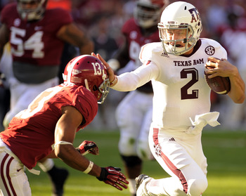 Johnny Manziel played like a Heisman winner in Tuscaloosa.