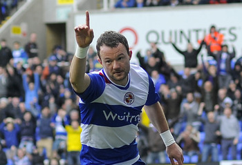 Reading Striker Noel Hunt