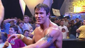 Before Orton made his long-haired debut in the WWE he counted the 1-2-3's in World Organized Wrestling. Photo Courtesy of WWE.com