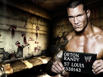 Randy Orton's military miscues led to more than just losing the starring role in The Marine. Photo Courtesy of totalsportsblog.com