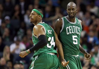 Paul Pierce and Kevin Garnett won't let the team go down without a fight