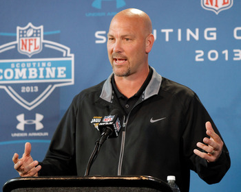 Gus Bradley may be interested in bringing in another weapon given his hopeless quarterback situation.