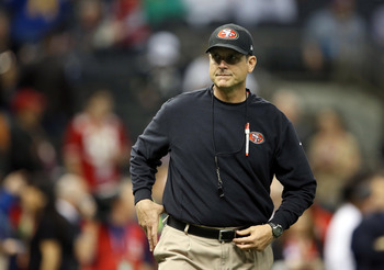 Jim Harbaugh and the 49ers have a ridiculous 14 picks in the upcoming draft.