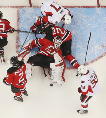 Martin Brodeur looks like he benefited from the extra rest provided by the lockout.
