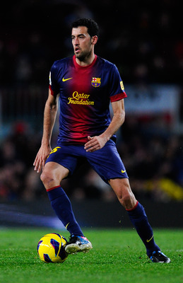 Sergio Busquets made the most passes (111) on the night.