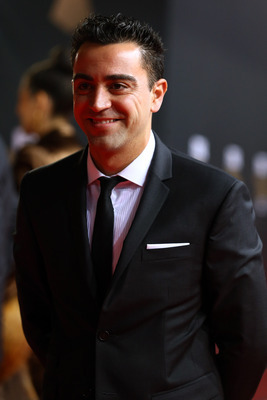 Xavi at the Fifa Ballon D'Or Gala.