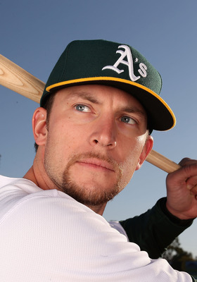 Lowrie may be thinking, &quot;if I hit well enough, they'll have to play me somewhere.&quot;