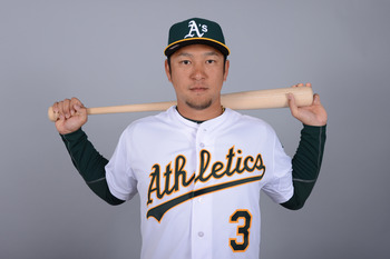 Nakajima, the everyday shortstop, for now.
