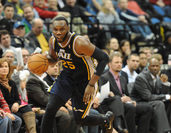 Utah Jazz's Al Jefferson