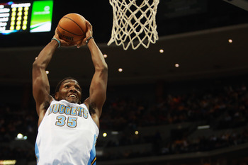 Denver Nuggets' Kenneth Faried